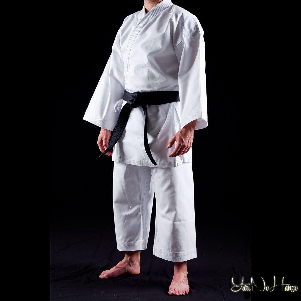 YariNoHanzo Karate Gi Shuto Okinawa Karategi Blanc Lourd 14 Oz